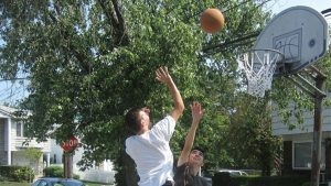 Residents Asked to Move Basketball Hoops from Streets