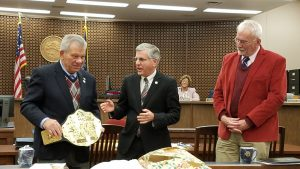 Mayor and City Council Honor Outgoing Council Members