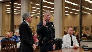 Mayor Appoints Snellings to Another Term as Public Safety Director, Police Chief