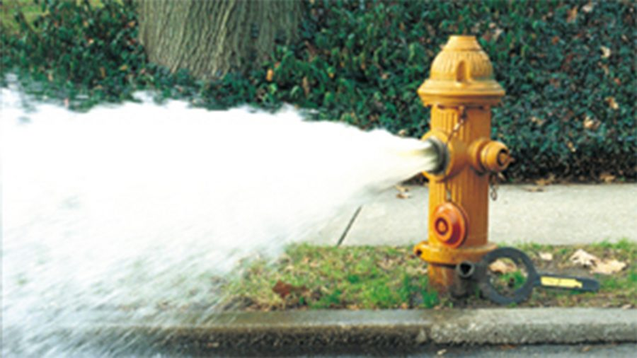 City of Jamestown NY Jamestown BPU Water Main Flushing