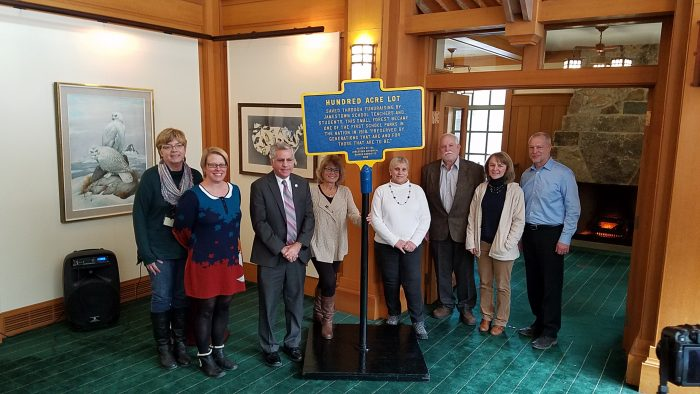 City of Jamestown NY City Installs 26th Historic Marker: Hundred Acre Lot