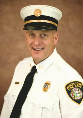City of Jamestown Mayor Appoints Battalion Chief Salemme as Deputy Fire Chief