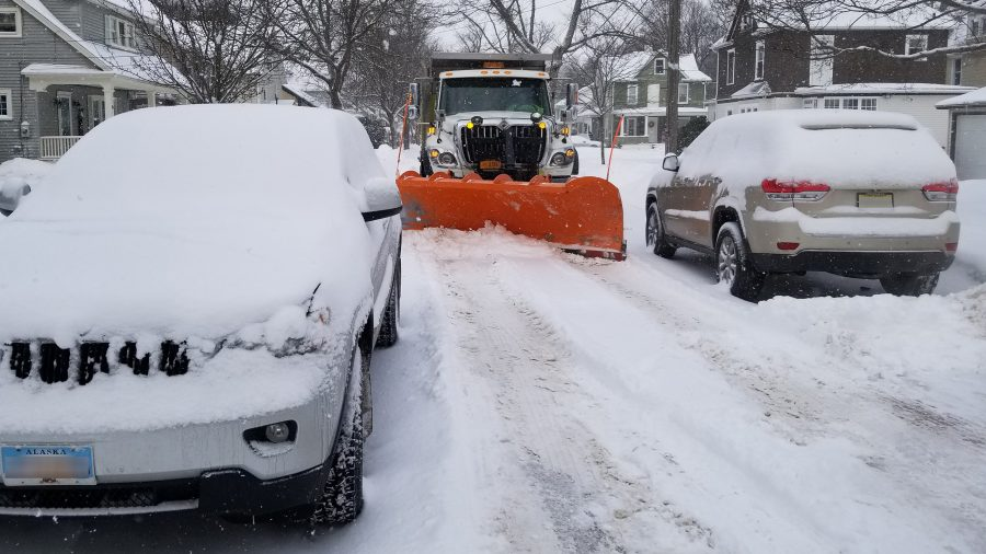 City of Jamestown NY Department of Public Works Snow Plowing