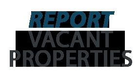 City of Jamestown NY Report Vacant Properties